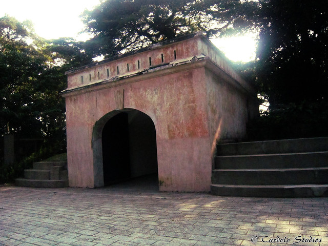 Fort Canning - Fort Gate 01