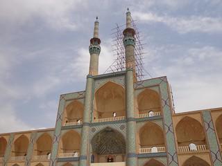Mesquita Amir Chakmak em Yazd no Irão