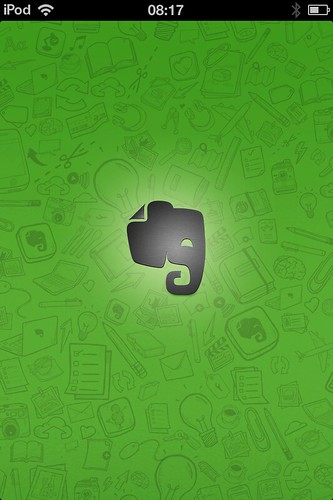 Evernote on iOS