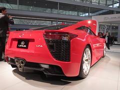 toyota ft-hs(0.0), automobile(1.0), automotive exterior(1.0), wheel(1.0), vehicle(1.0), lexus lfa(1.0), performance car(1.0), automotive design(1.0), lexus(1.0), auto show(1.0), concept car(1.0), land vehicle(1.0), luxury vehicle(1.0), coupã©(1.0), supercar(1.0), sports car(1.0),