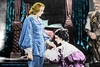 """Movie Star Greta Garbo, as """"Queen Christina"""" Gets a Kiss on the Hand from a Young Admirer by Walker Dukes"""