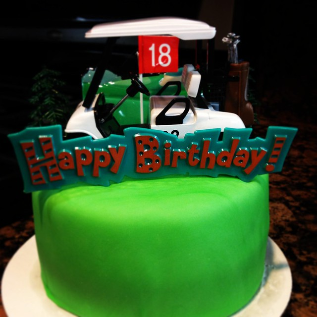 Miniature Golf Birthday Cake Image Inspiration of Cake and