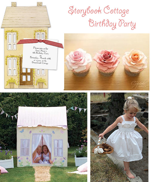 Storybook Cottage Birthday