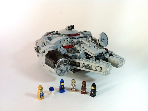 Micro-Fig Millennium Falcon - Main
