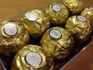 FERRERO ROCHER(フェレロロシェ)のチョコレート