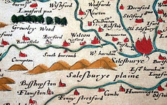 Christopher Saxton's Atlas of the Counties of England & Wales