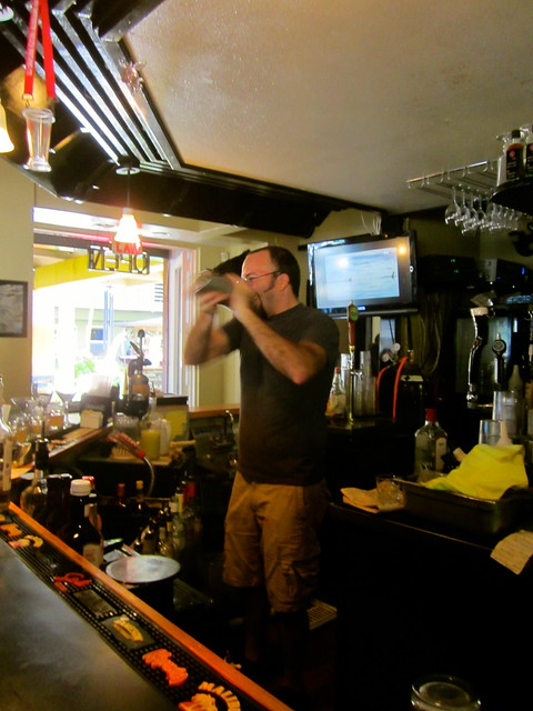 dave power, bartender of feral pig