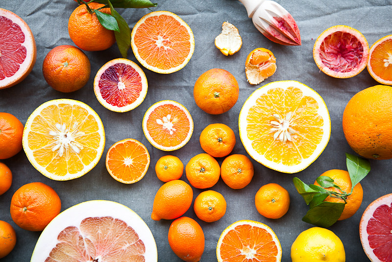 Winter Inspiration: Citrus