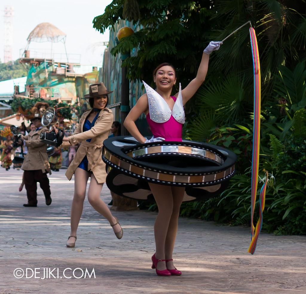 Hollywood Dreams Parade - Film Reel Dancer