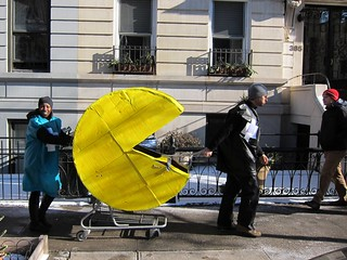 Idiotarod NYC 2013: Clinton Street, Team Pac-Man