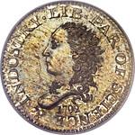 1792 Half Disme obv