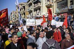 Shubra March to Tahrir #Jan25