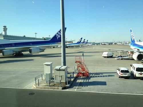 羽田に到着。 by haruhiko_iyota