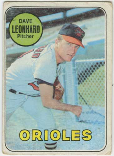 1969 Topps Dave Leonhard