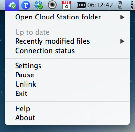 Cloud Station Client - Status