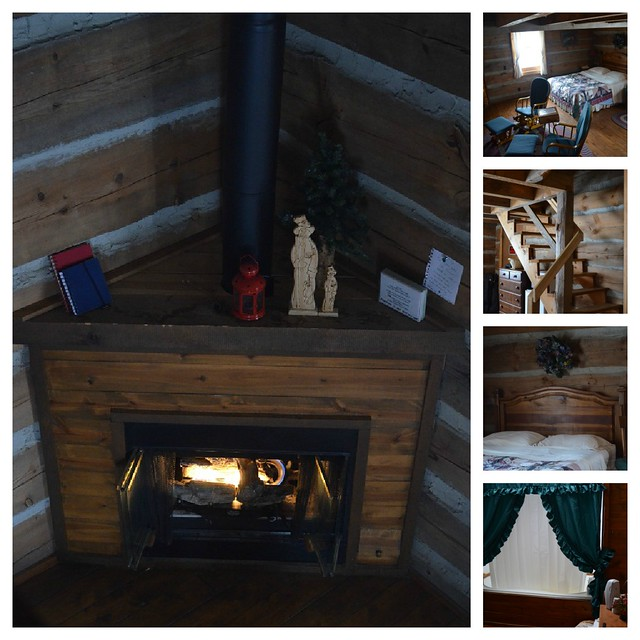 Inside the Cabin Collage