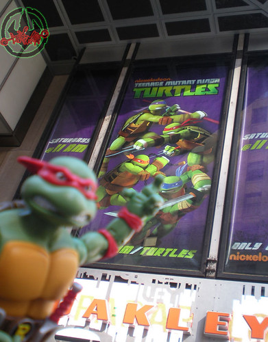 TEENAGE MUTANT NINJA TURTLES - CLASSIC COLLECTION :: RAPHAEL xiv //  ..in TIMES SQUARE  (( 2012 ))