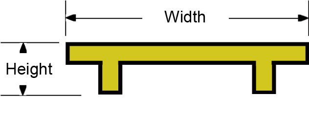 Sign Line Guardrail Drawing
