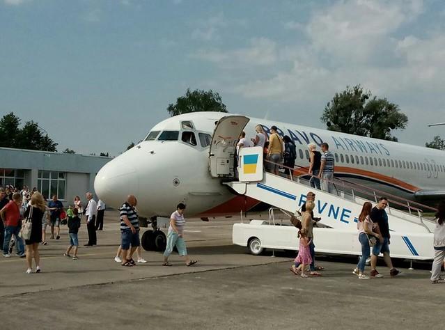У п'ятницю – останній: польотів з Рівного до Туреччини більше не буде