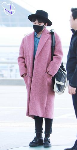 Big Bang - Incheon Airport - 21mar2015 - G-Dragon - G_Vaby - 11