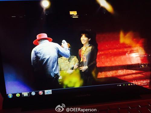 G-Dragon, Seung Ri & Tae Yang - V.I.P GATHERING in Harbin - 21mar2015 - DEERaperson - 01