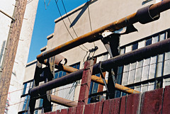 Pipe Detail At The Powerhouse