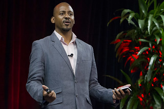 Wayne Sutton speaking at TEDxBayArea Global Women Entrepreneurs Event 2012