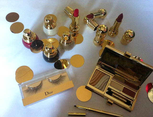 Dior Grand Bal Natale 2012 Christmas Collection Holiday Les Ors de Peau Diorific Rouge Vernis Carnet De Bal