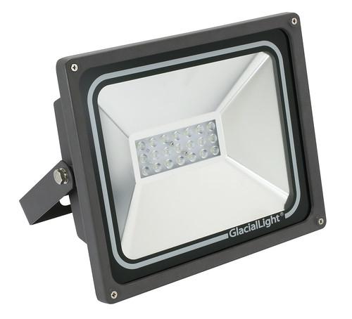 GlacialLight представляет влагозащитный светодиодный прожектор GL-FL60