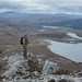 Damian and Niall looking over to Loch Stack from Arkle, Sutherland by tomgardner