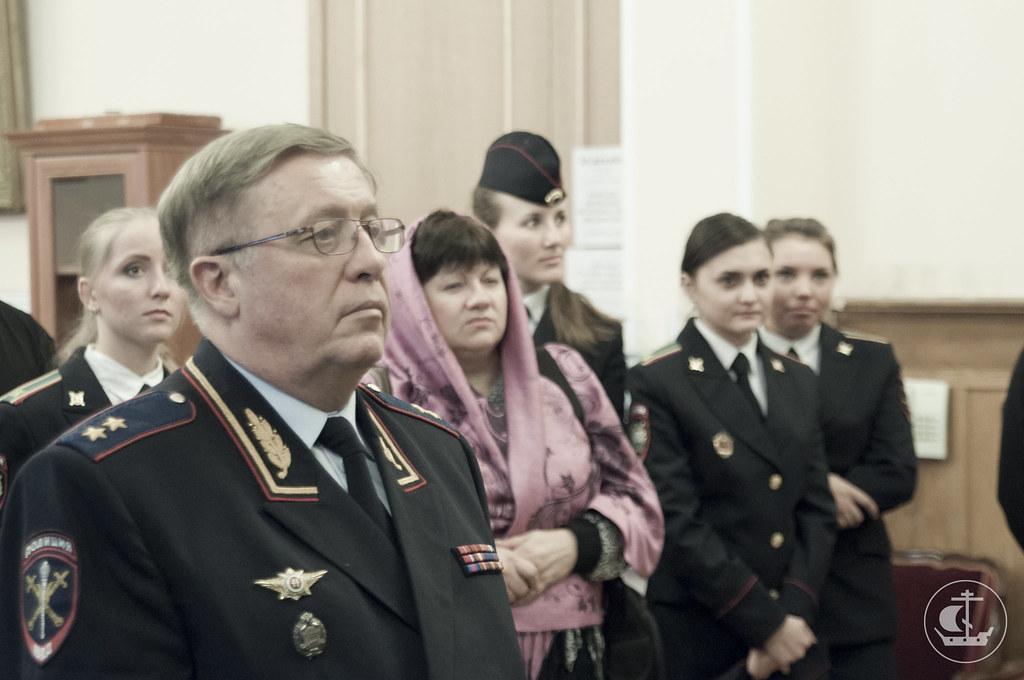 10 декабря 2012, Экскурсия для представителей Санкт-Петербургского университета МВД РФ