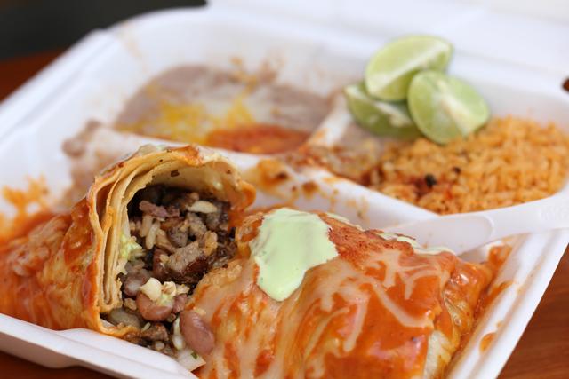 Carne Asada Burrito (Phoenix, Arizona)