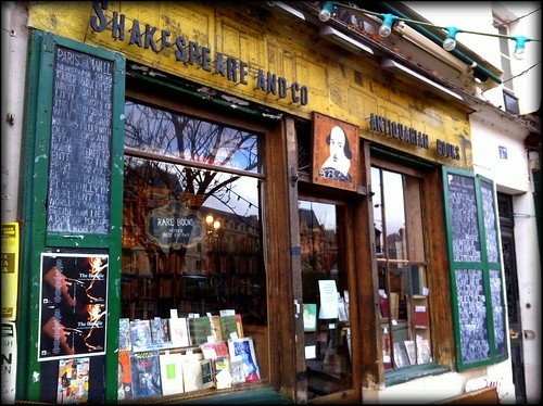 Get Ye Down To Shakespeare & Co. My Son by Paris Set Me Free