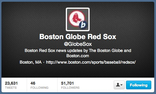 Boston Globe Red Sox (GlobeSox) on Twitter