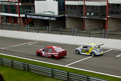 Circuit de Spa Francorchamps - ALFA ROMEO 75 Turbo & VOLKSWAGEN Cox Turbo