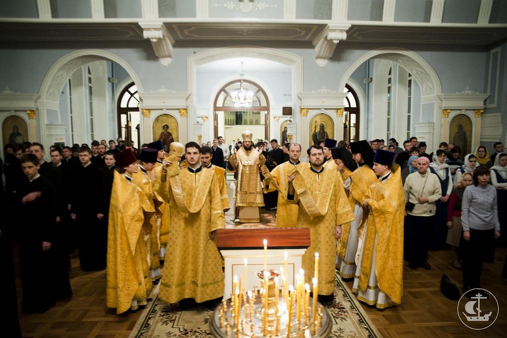 15-16 декабря 2012, Неделя 28-я по Пятидесятнице
