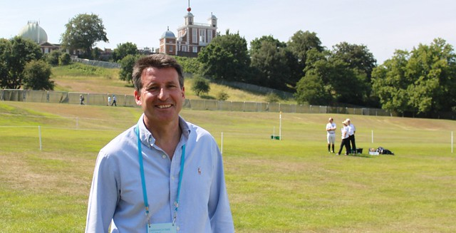 Seb Coe in Greenwich Park