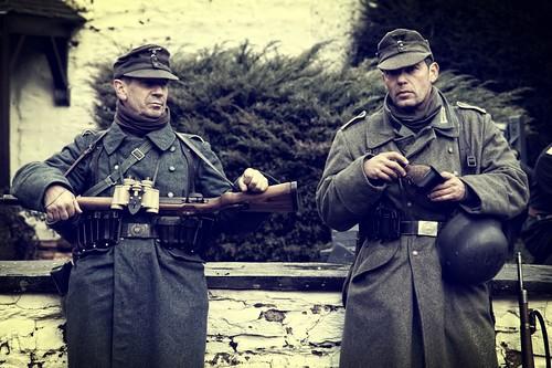 Ardennes battle in Belgium