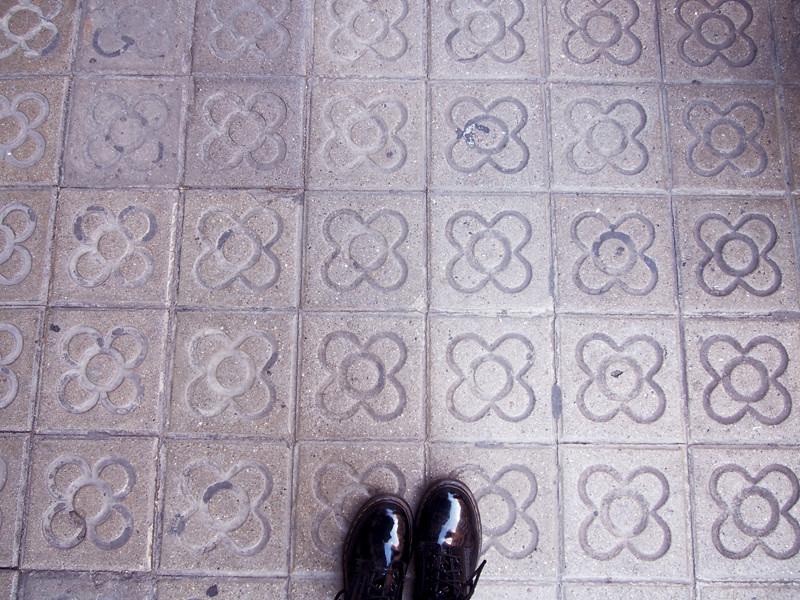 flower pattern barcelona