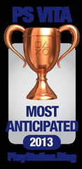 PS.Blog Game of the Year 2012 - PS Vita Most Anticipated Bronze
