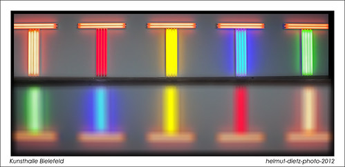 dan-flavin-bielefeld-kunsthalle-collage, helmut-dietz-art-photo-2012