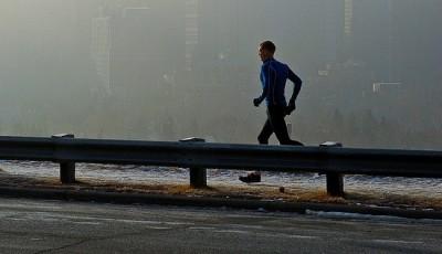 Běhat ve smogu není bezva