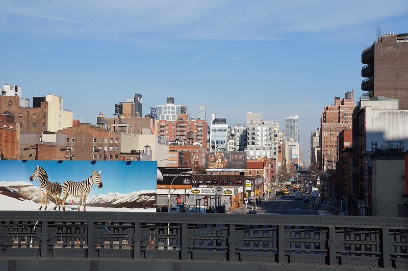 High Line overlook