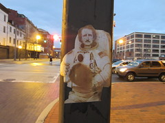 Poe Astronaut on Howard St.