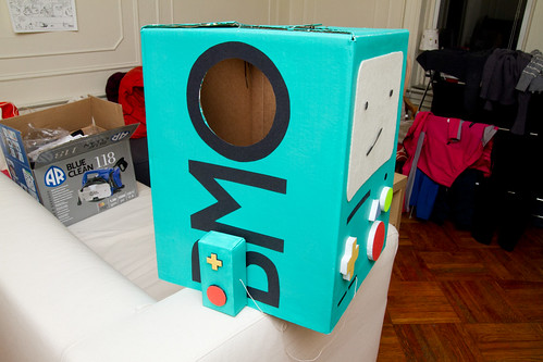 BMO costume sideview