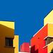 Rennes, quartier Jacques Cartier (Sorry Mondrian) by Hervé Marchand