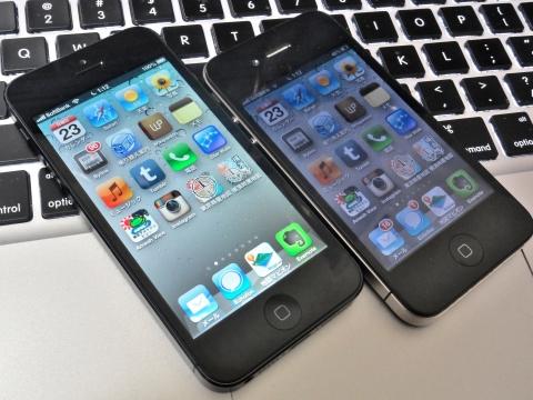 iPhone 5に機種変更
