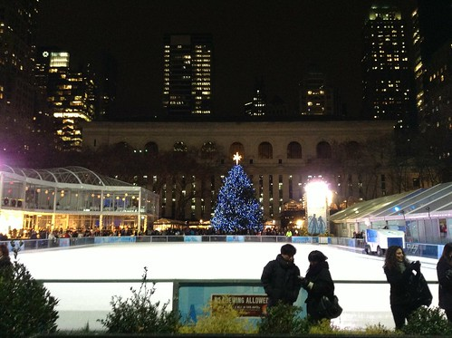Tourist Season in Bryant Park