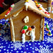 Izzy's gingerbread house