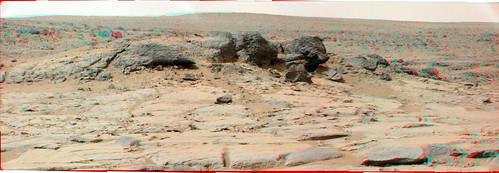 CURIOSITY sol 127 Mastcam L R  anaglyph